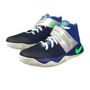 Nike iD Kyrie 2 Basketball Blue Size 4 Big Kids